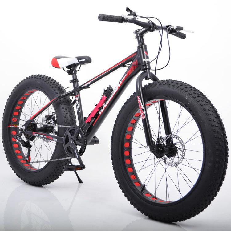 Велосипед с широкими колесами, фэт байк, Hammer S-800 ...