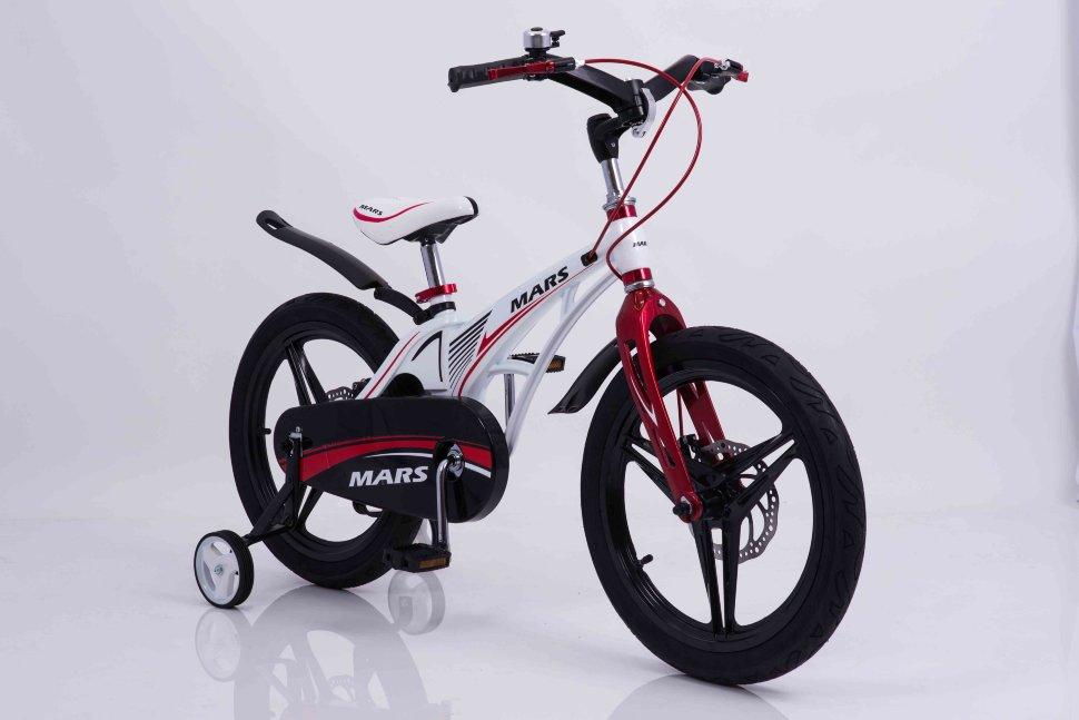 "Детский велосипед MARS 18"" (Белый) | Детские Велосипеды"